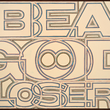 Archie Scott Gobber, Be A Good Loser, 2010, Enamel on canvas
