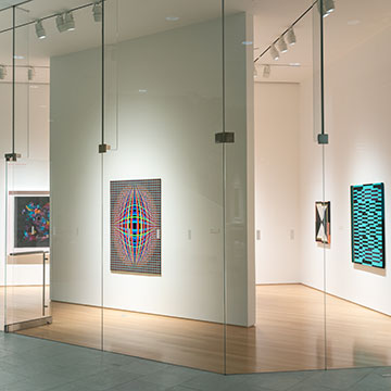 queer abstraction installation view