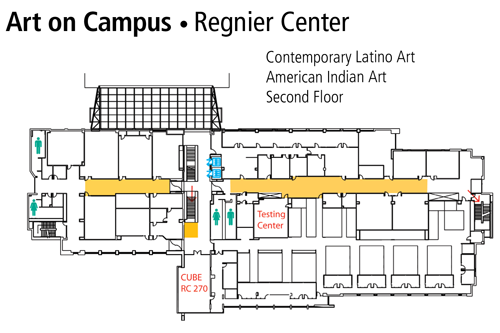 Regnier Center (RC) Second Floor