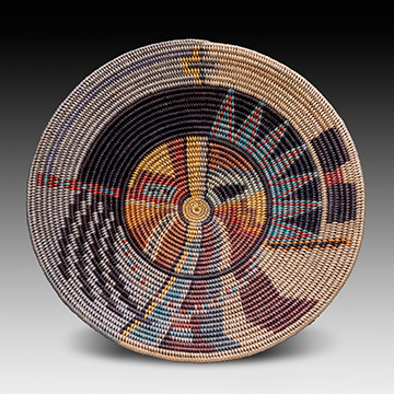 Elsie Holiday, Changing Woman Basket, 2008, Sumac