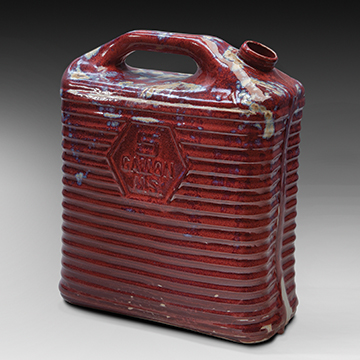 Matthias Merkel Hess, 5 Gallon Water Carrier, 2011, Porcelain and glaze