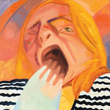 Dana Schutz, Yawn 2, 2012, Oil on canvas