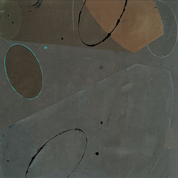 Warren Rosser, Play Continued, 2004, Unique acrylic on canvas