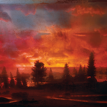 Kim Keever, Sunset 44d, 2007, Chromogenic print