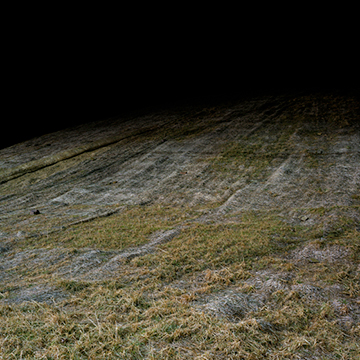 Michael Vahrenwald, Straw Hill. Wal-Mart, Bloomsberg, PA, 2006, Chromogenic print on Plexiglas