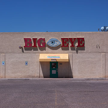 Art Miller, Big Eye Adult Video, Albuquerque, NM 2010, 2011, Archival pigment print